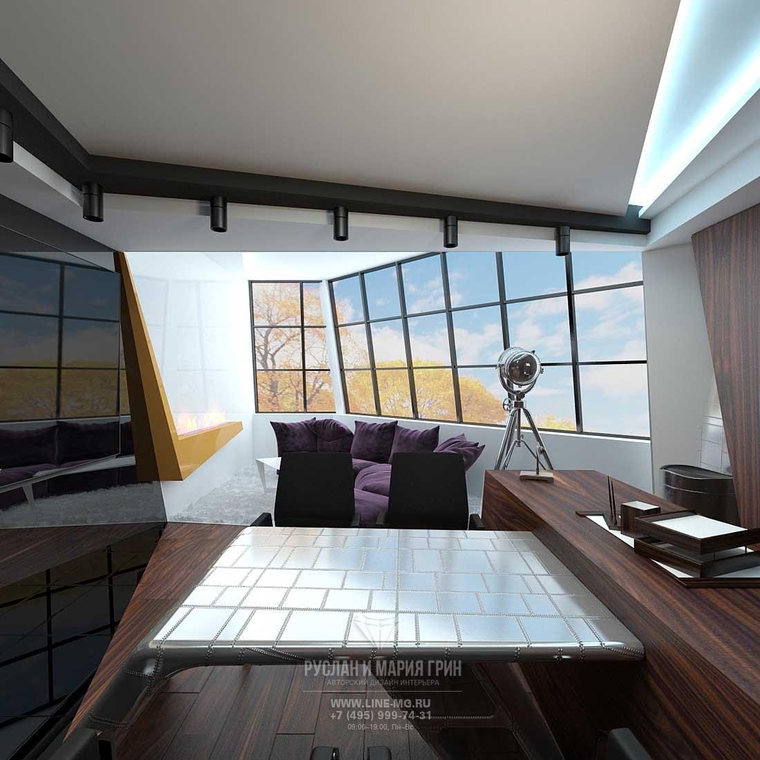 Дизайн кабинета руководителя, фото интерьера 2015