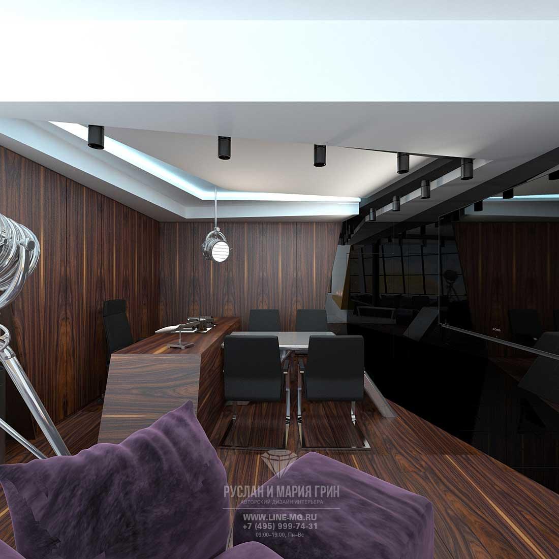 Дизайн кабинета по рисунку 32