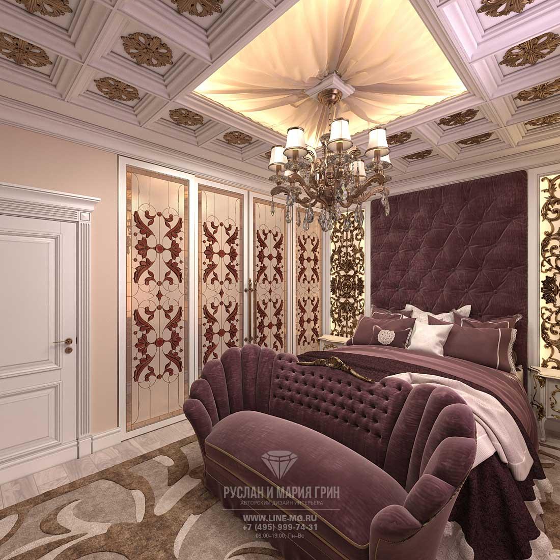 Дизайн спальни в стиле модерн: фото интерьера 2016