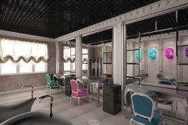 Дизайн салона красоты маленькой площади