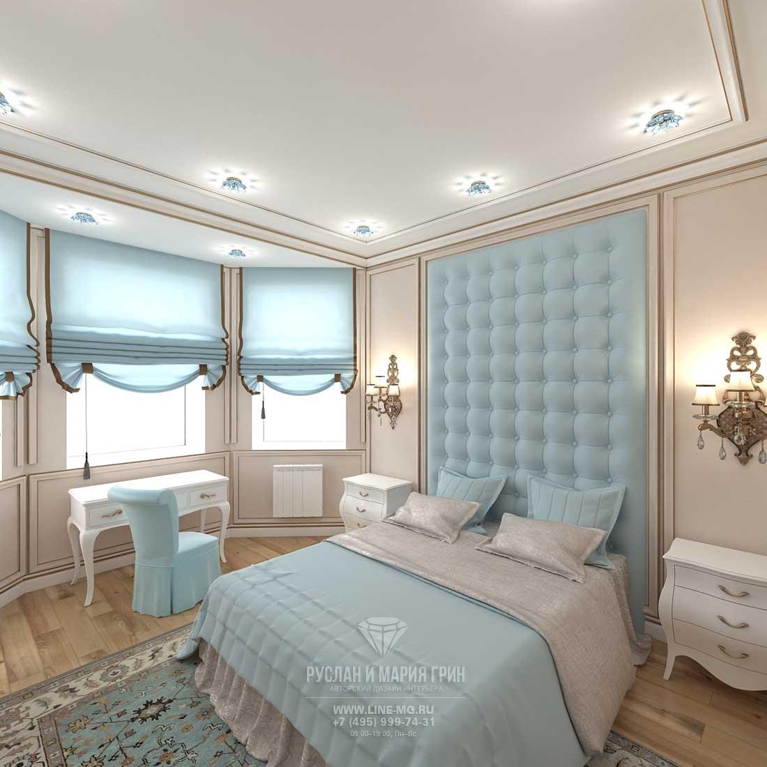 Дизайн гостевой комнаты в загородном доме. Фото 2016