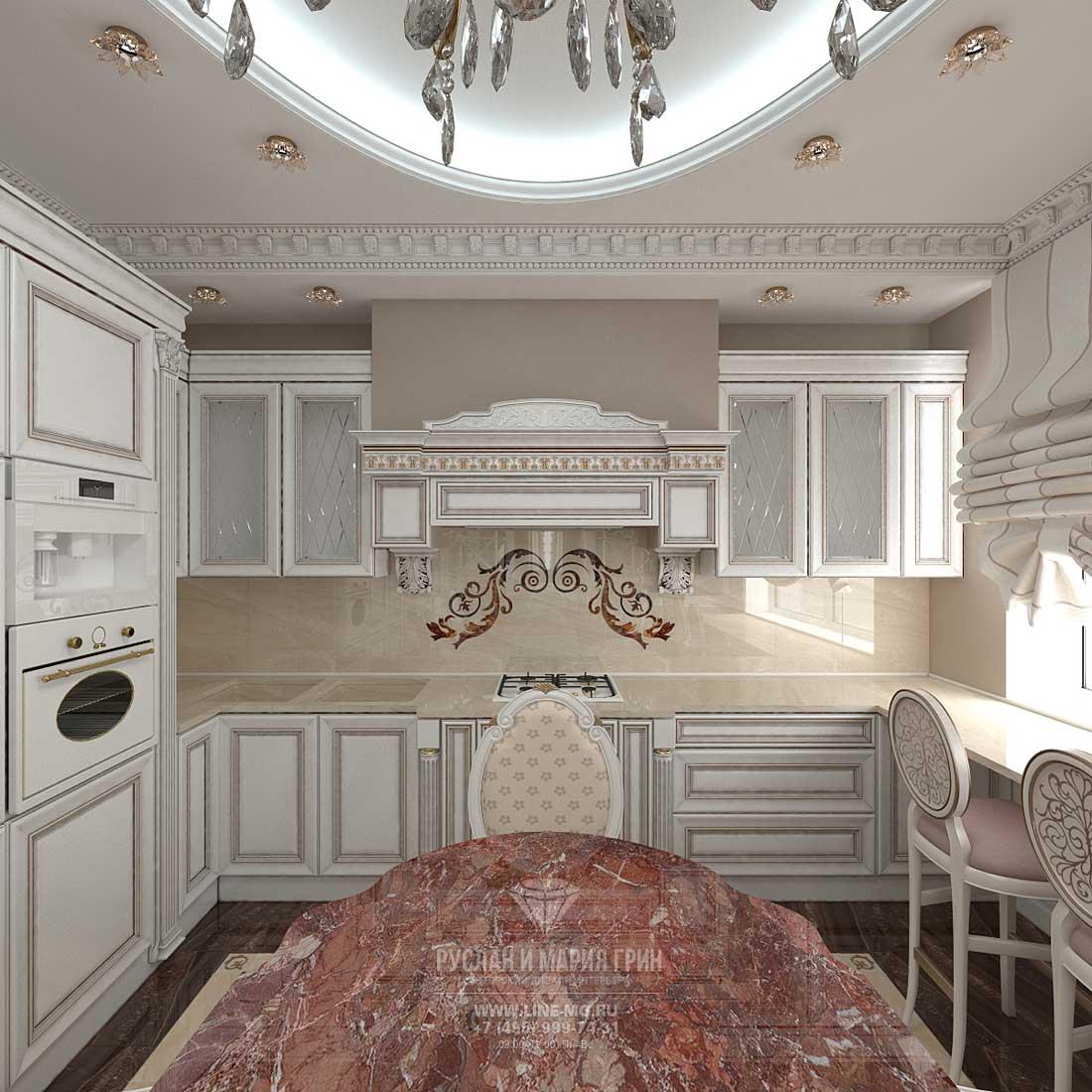 Дизайн кухни-столовой. Фото 2016