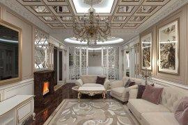 Дизайн дома в КП «Резиденция Рублево»