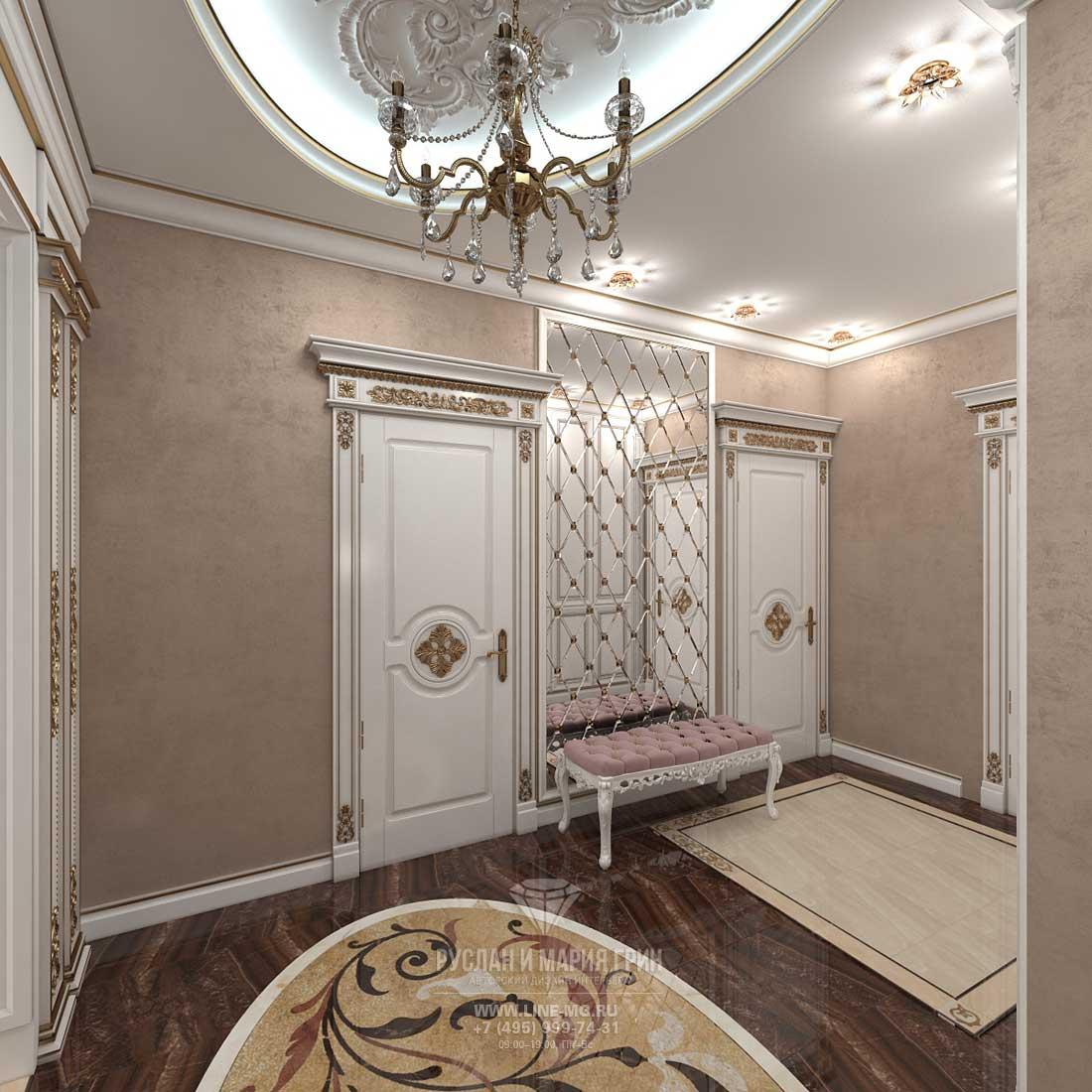 Дизайн прихожей в доме. Фото 2016