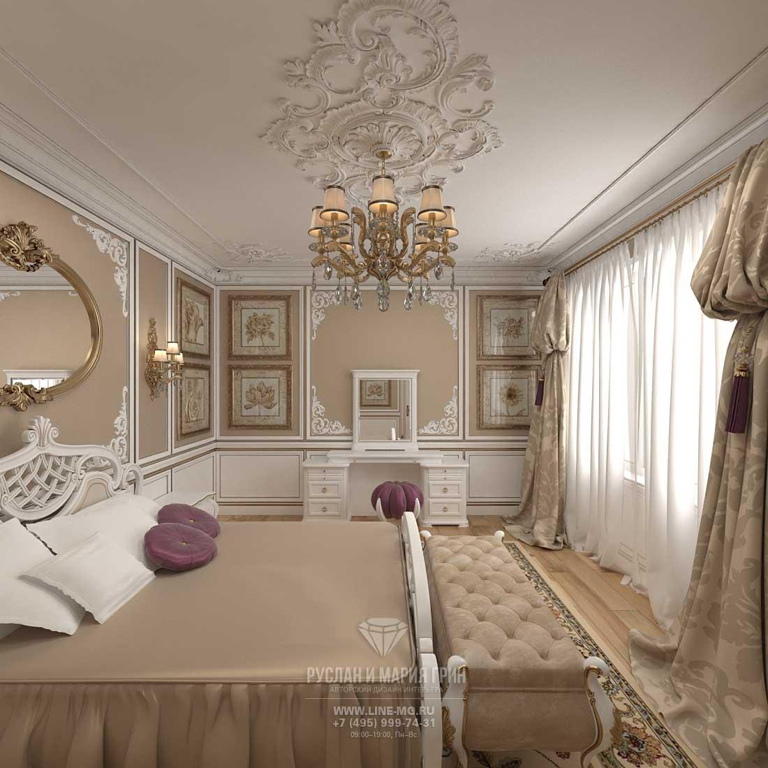 Дизайн спальни. Фото 2016