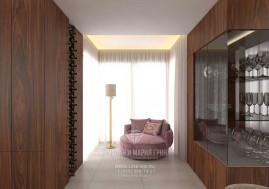 Дизайн гостиной в загородном доме в Испании