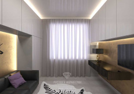 Дизайн кабинета в загородном доме в Испании