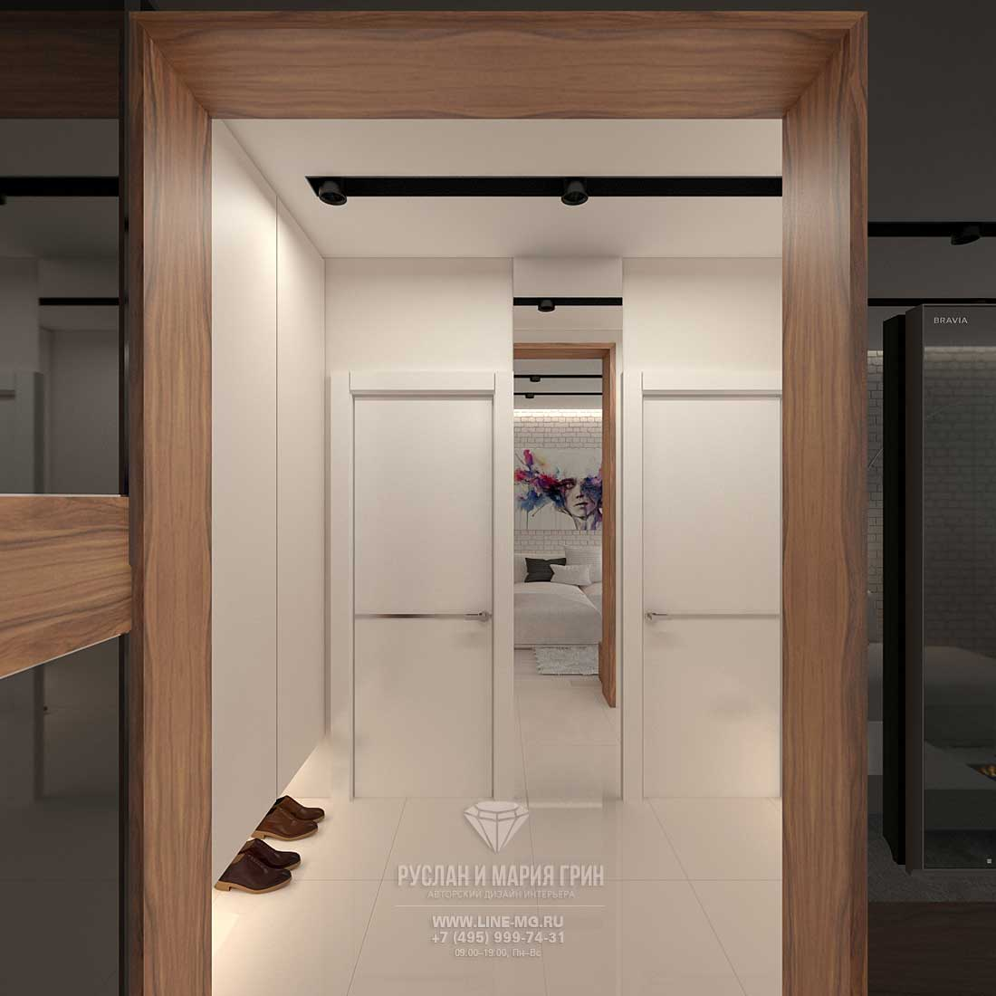 Дизайн прихожей в современной квартире