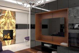 Дизайн современной квартиры с элементами арт-деко