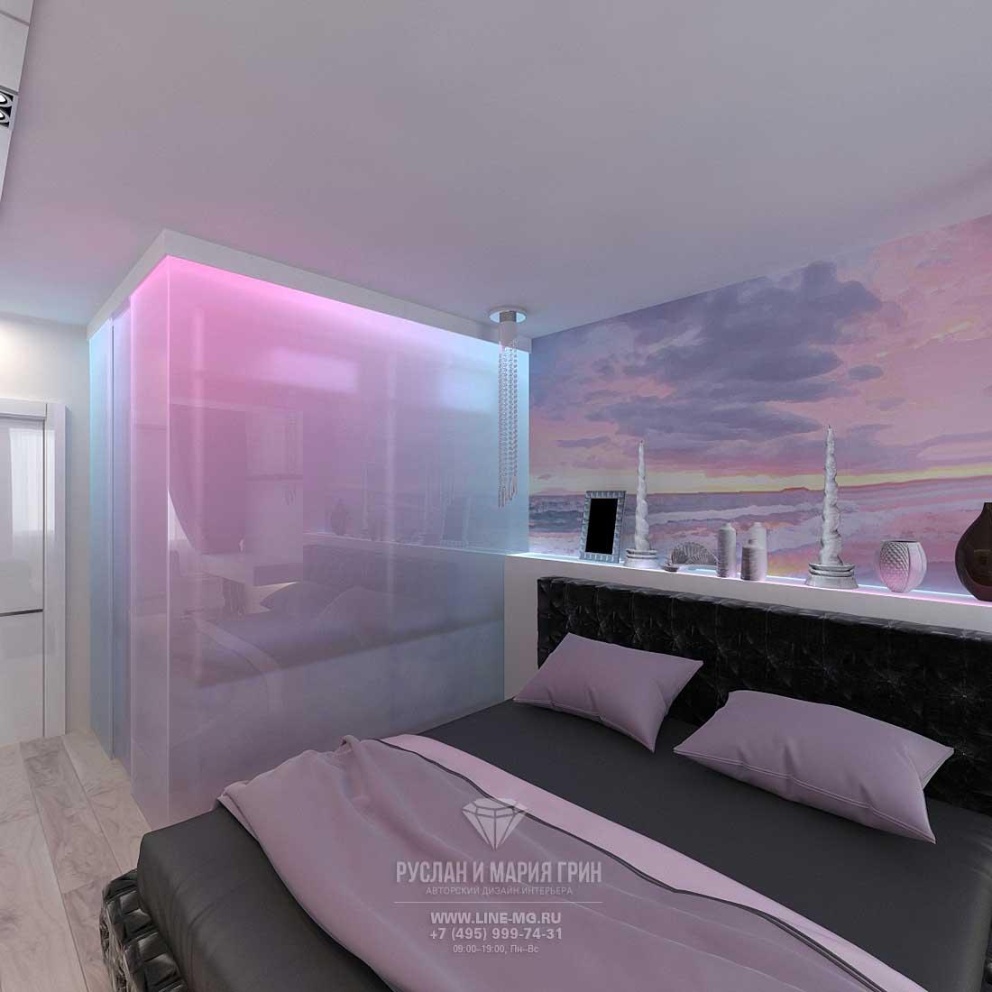 Дизайн спальни в современной квартире