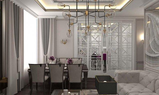 Дизайн трехкомнатной квартиры в ЖК «Достояние»