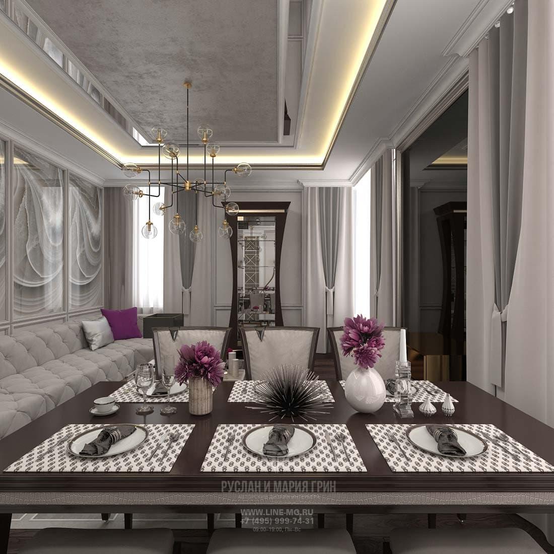 30 идей дизайна интерьера трехкомнатной квартиры 85 кв. Метров в современном стиле