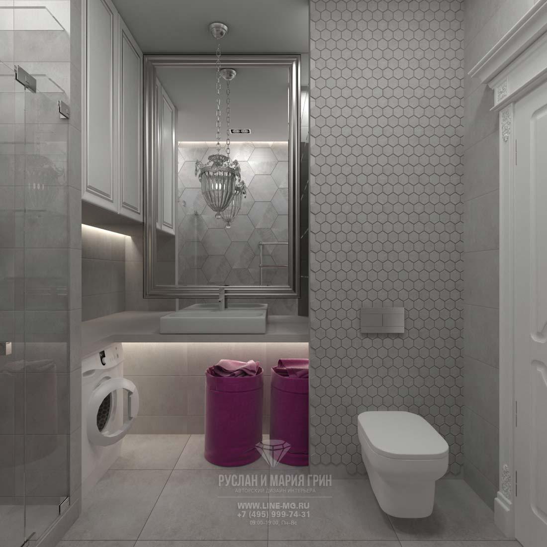 Дизайн ванной комнаты, фото 2016