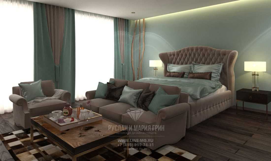 Room design in apart-hotel