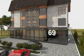 Дизайн фасада частной гостиницы