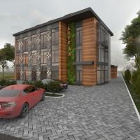 Дизайн дома снаружи