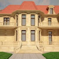 Фасад дома в классическом стиле