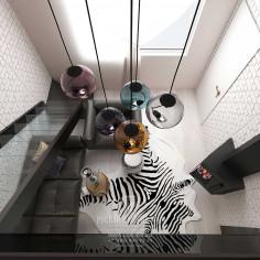 Дизайн интерьера кабинета с элементами в стиле лофт