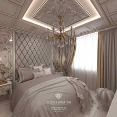 Дизайн интерьера спальни. Фото