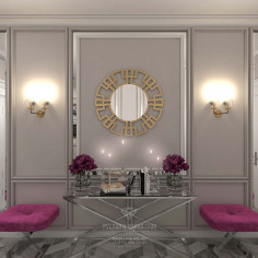 Дизайн коридора в стиле арт-деко
