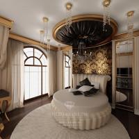 Дизайн интерьера спальни в загородном доме