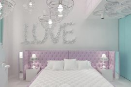 Interior design of nursery room for a teenage girl. 16 photos