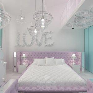 Дизайн детской комнаты для девушки-подростка. Фото