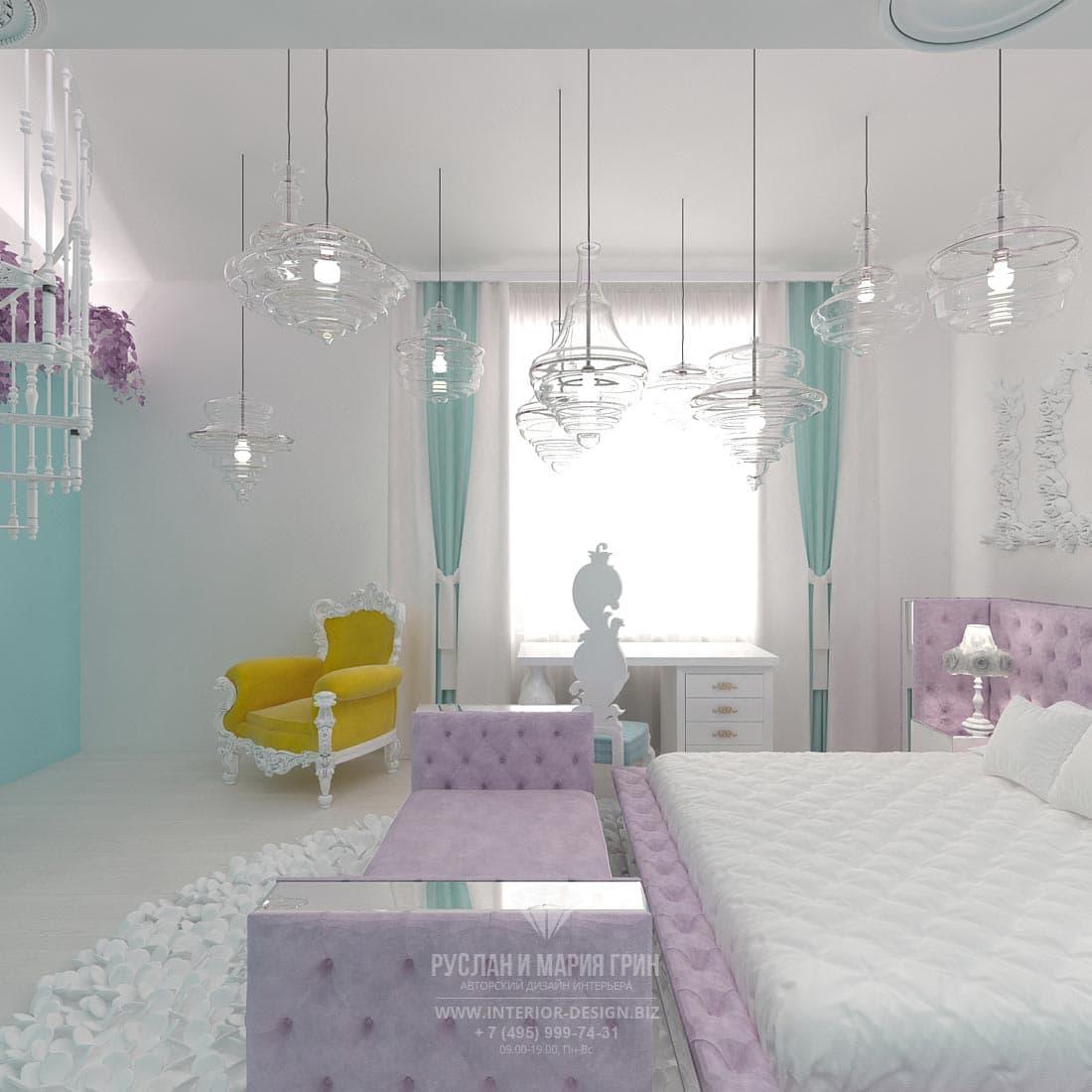 Дизайн детской комнаты для девушки-подростка