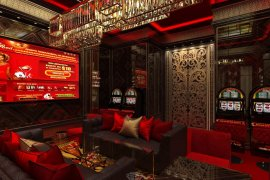 Casino interior design project