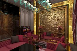 Casino interior design in Las Vegas