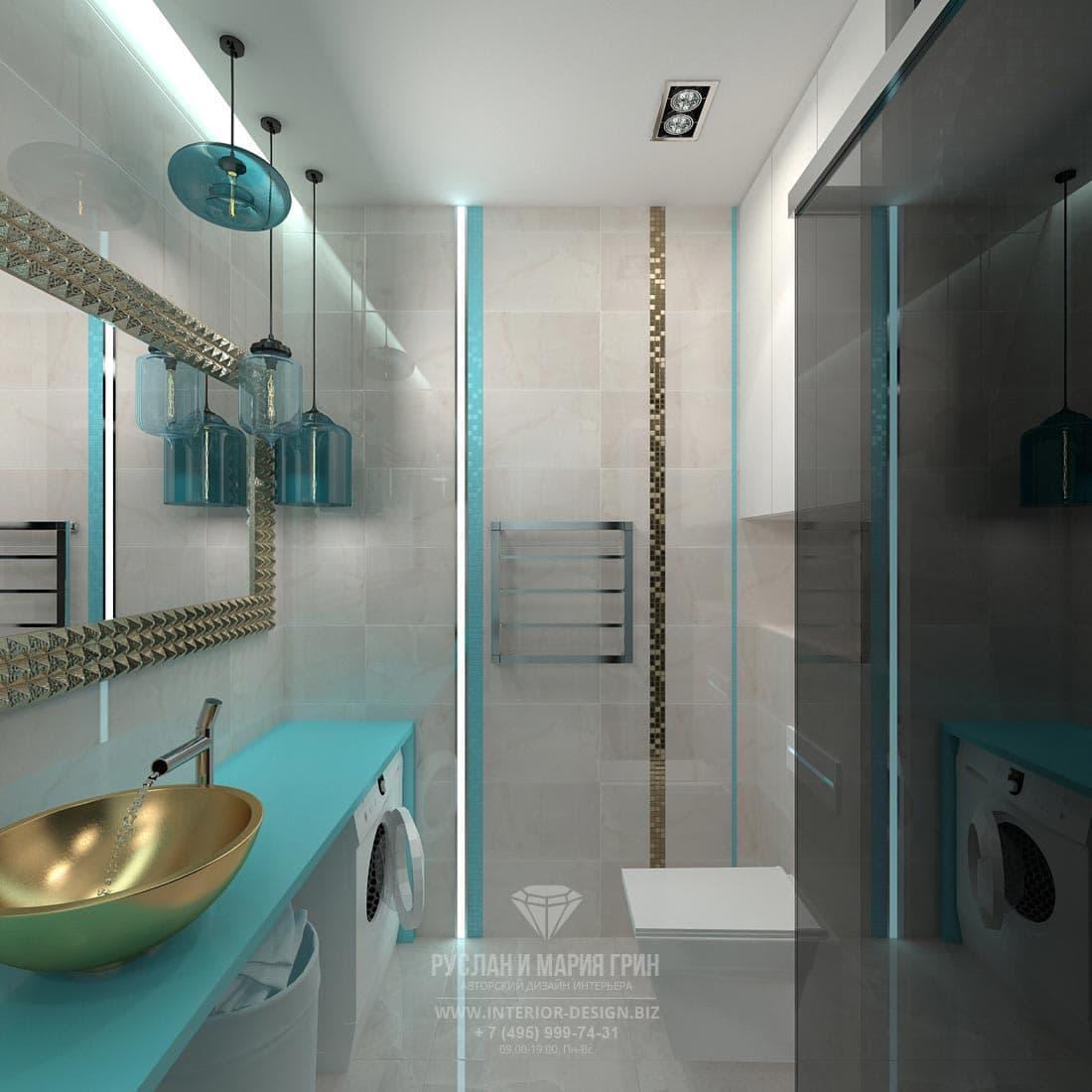 Дизайн современного санузла. Фото 2017