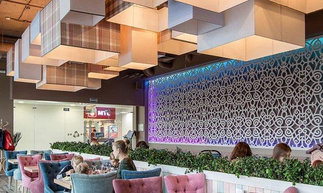 Современный интерьер итальянского кафе. Фото после ремонта