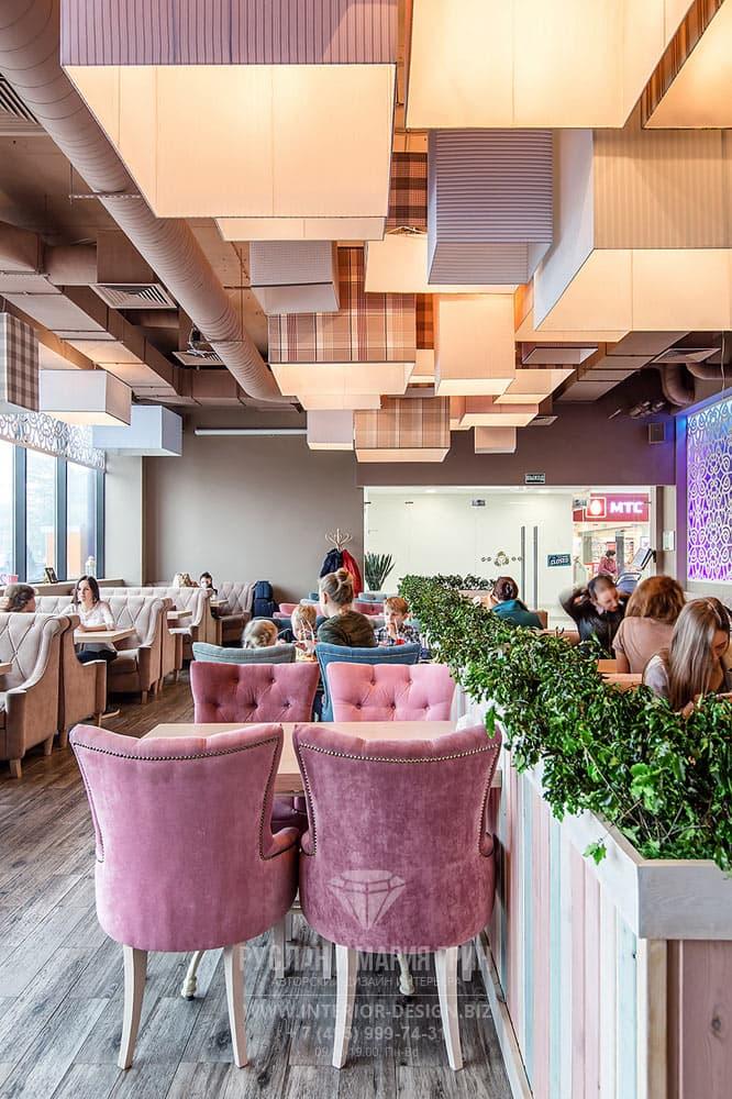 """Дизайн кафе """"Бонасэра"""". Фото 2017"""