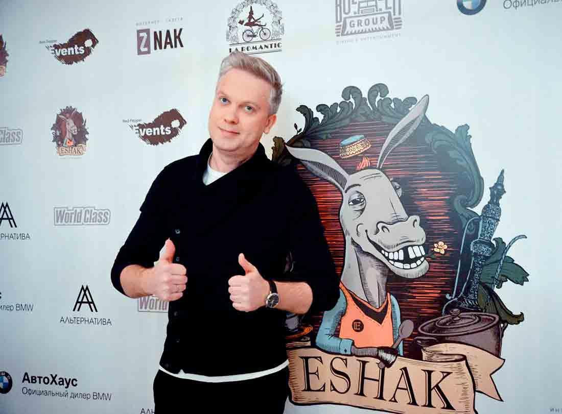 Сергей Светлаков рекомендует: Ресторан Eshak