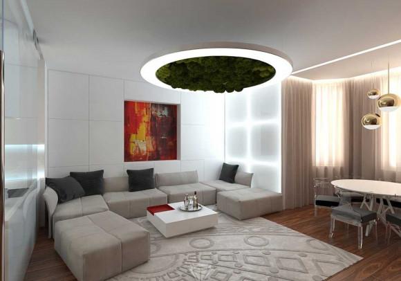 Ремонт под ключ трехкомнатной квартиры в Москве