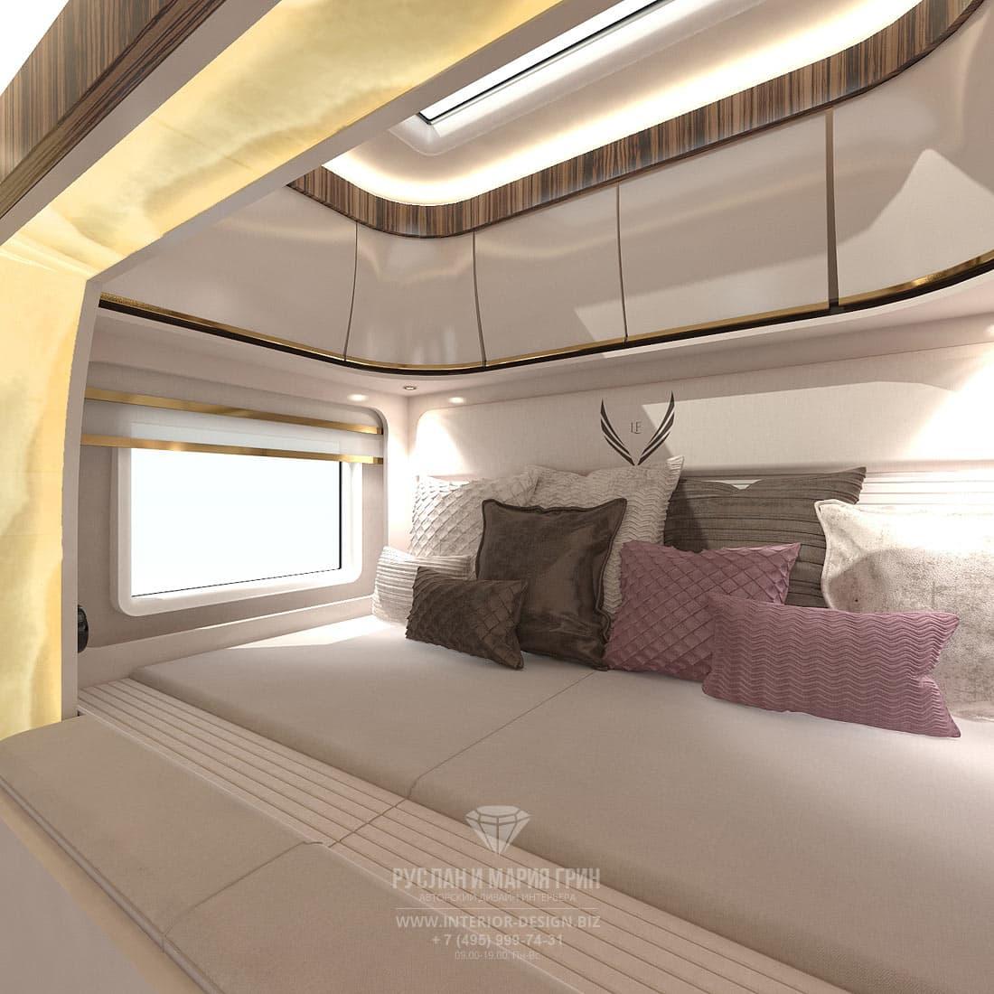 Дизайн спального места в автокемпере