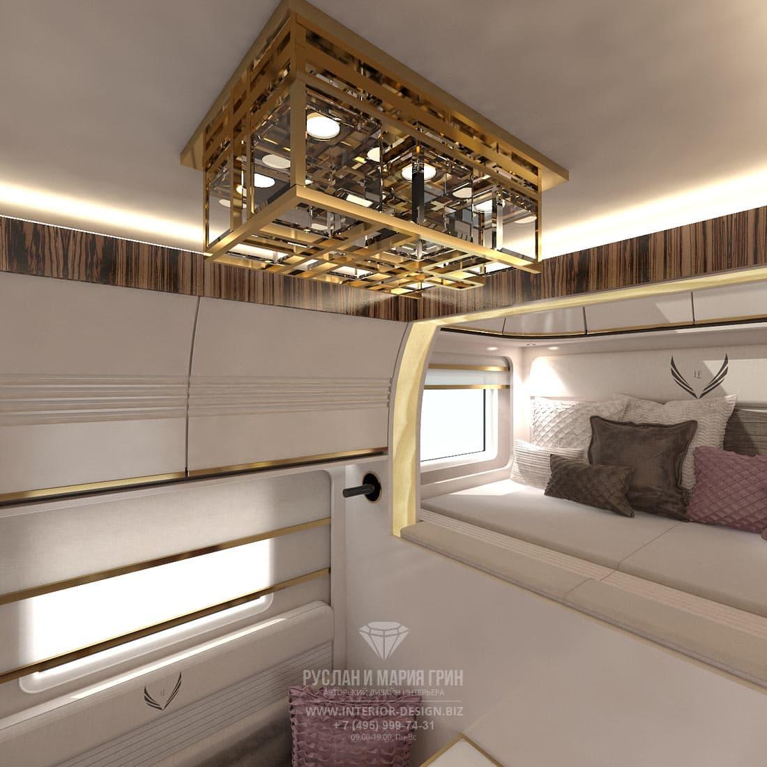 """Дизайн интерьера """"яхты на колесах"""" (автодома или автокемпера)"""