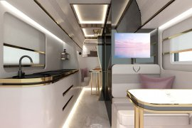 How to Travel Comfortably across Europe? Interior Design Ideas for Camper Van