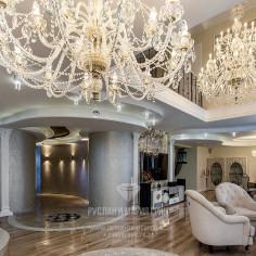 Дизайн камина в частном доме. Фото