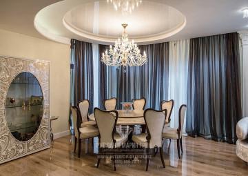 Дизайн гостиной в загородном доме. Фото 2018