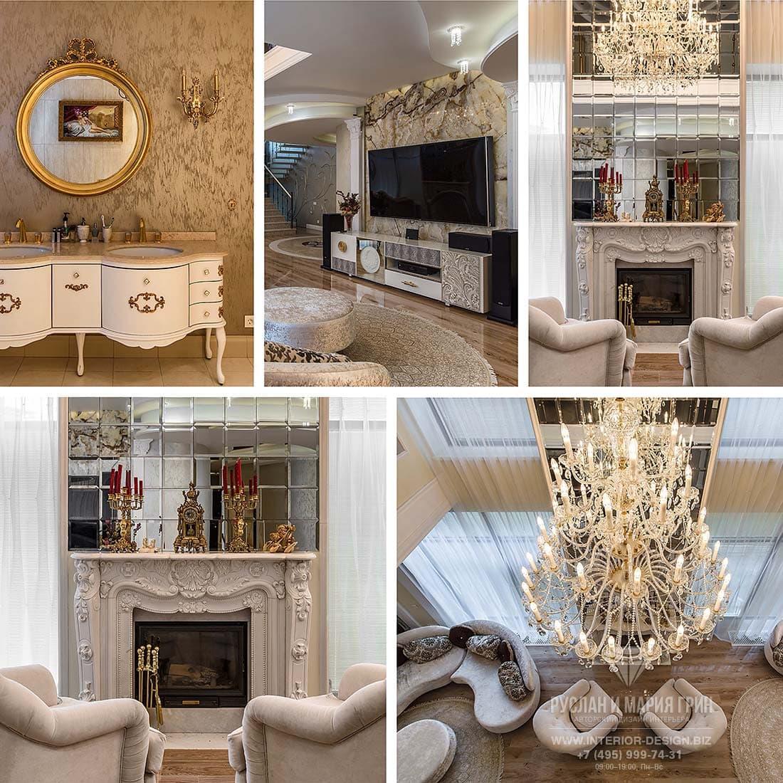 Красивые интерьера дома после дизайнерского ремонта