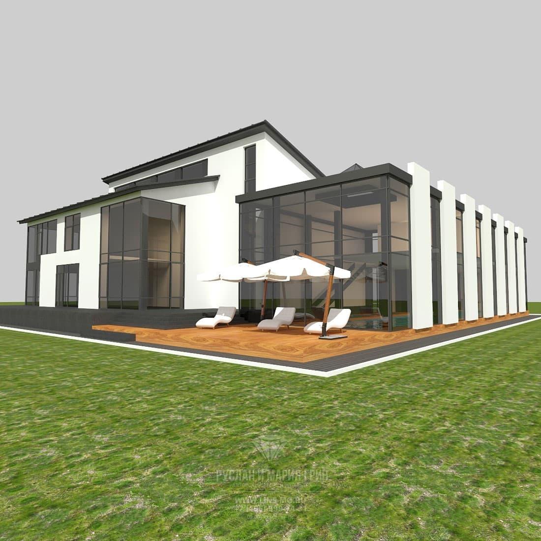 Дизайн фасадов частного дома