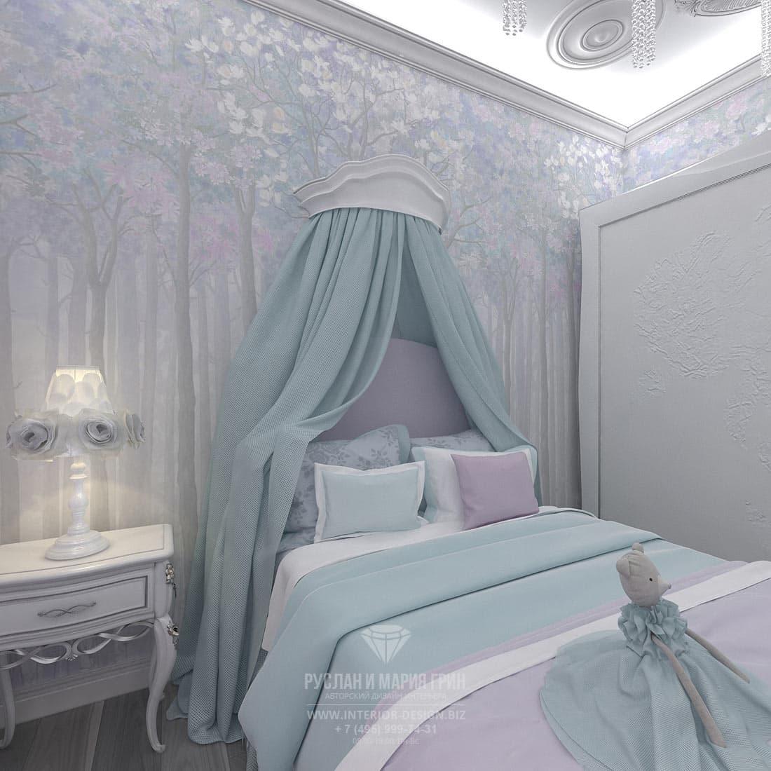 Интерьер светлой и современной детской комнаты
