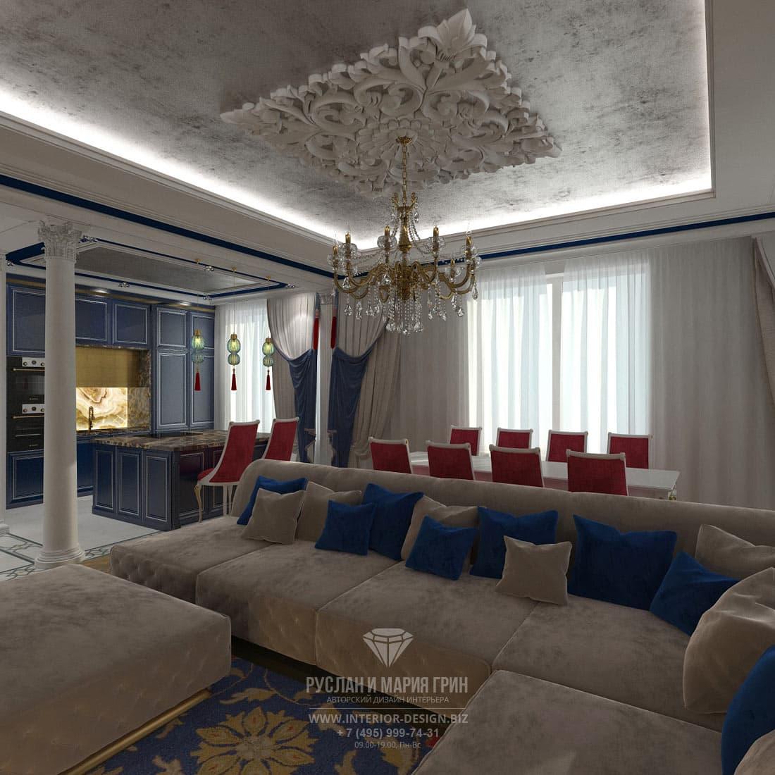 Современный дизайн квартиры 2018