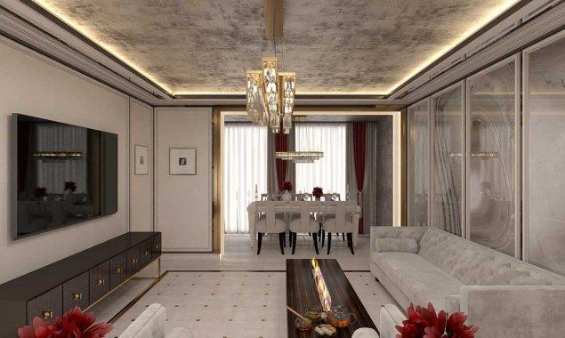 Интерьер дома в стиле арт-деко
