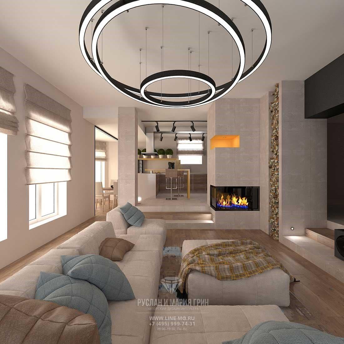 Дизайн интерьера в стиле лофт. Фото из портфолио