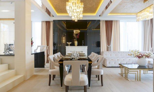 Дизайнерский ремонт частного дома в КП «Высокий берег»