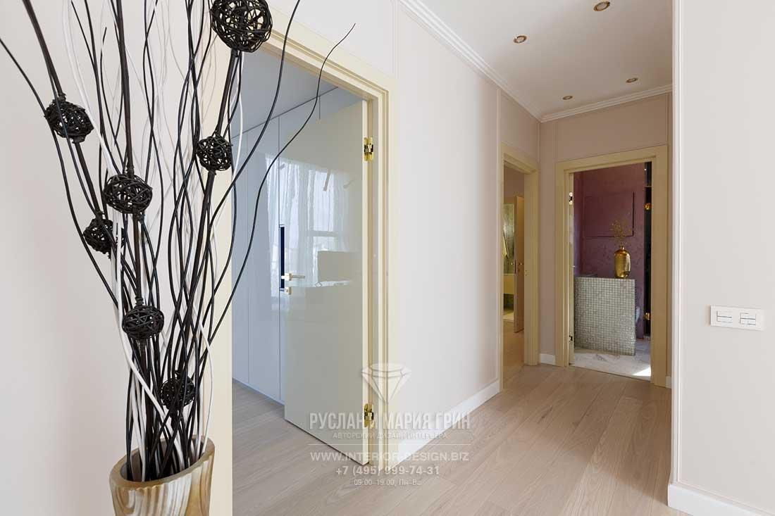 Дизайн коридора в частном доме. Фото после ремонта
