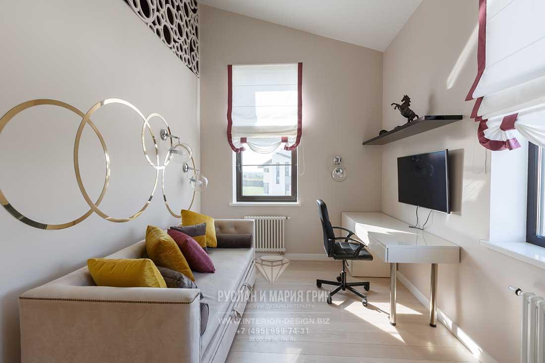 Детская комната для мальчика-подростка в частном доме