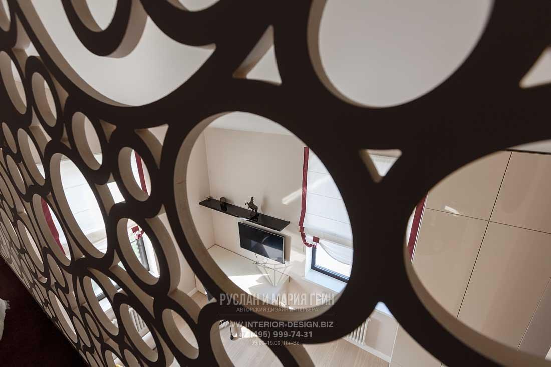 Декоративная перегородка в стиле арт-деко